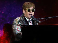 Sir Elton John on stage (Greg Allen/PA)