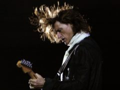 Aerosmith guitarist Joe Perry said he was looking forward to seeing fans in 2019 (Aijaz Rahi/AP)