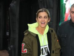 Strictly Come Dancing star Ashley Roberts arrives at Blackpool Tower Ballroom for Strictly Come Dancing rehearsals.