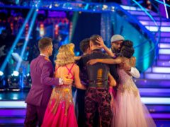 Janette Manrara and Dr Ranj Singh are the latest Strictly couple to be eliminated (BBC/Guy Levy)