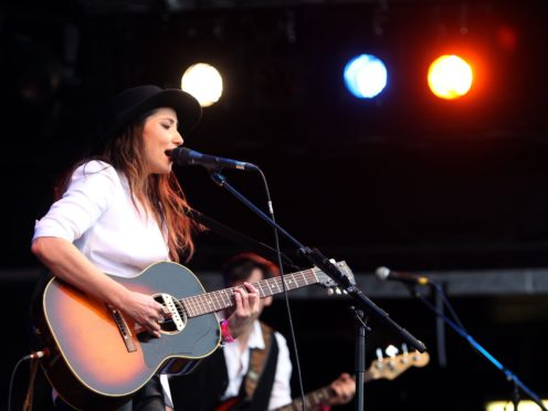 KT Tunstall will perform four gigs in one night at Sleep in the Park (Steve Parsons/PA)