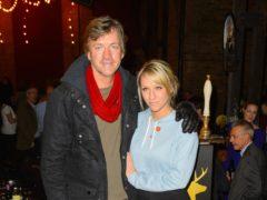 Richard Madeley and his daughter Chloe Madeley (Dominic Lipinski/PA)