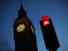 The world's first traffic light appeared in Westminster (Yui Mok/PA)