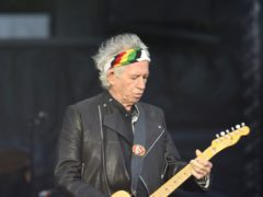 Rolling Stone rocker Keith Richards revealed he has cut down on drinking alcohol (Jane Barlow/PA)