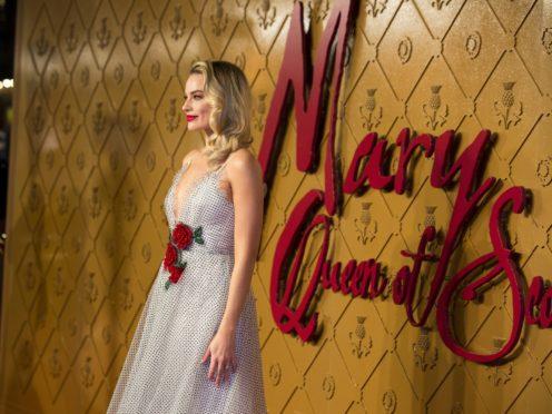 Margot Robbie plays Elizabeth I in the new film (PA)