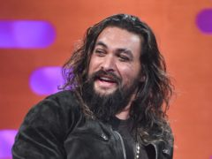Jason Momoa during the filming of the Graham Norton Show at BBC Studioworks 6 Television Centre, Wood Lane, London, to be aired on BBC One on Friday evening.