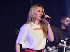 Ellie Goulding performing during her Streets of London fundraiser, at the SSE Arena in Wembley, London (Matt Crossick/PA)