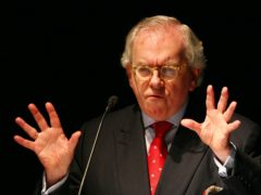 David Starkey has spoken of the death of his partner (Gareth Fuller/PA)