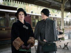 Ruth Bradley stars as Agatha Christie in a new TV drama (Channel 5/PA)