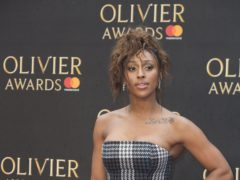 Alexandra Burke has split with her record label (Isabel Infantes/PA)