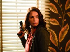 Ruth Wilson as Alice Morgan in Luther. (Des Willie/BBC)
