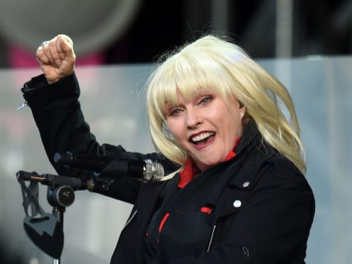 Debbie Harry, whose band Blondie rode high in the charts in the 1980s. Music from that decade and the 60s, 70s and 90s is especially memorable to millenials, a study has found. (Joe Giddens/PA)
