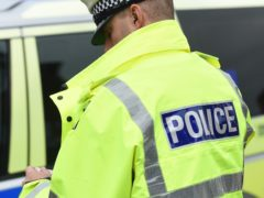 Police are appealing for witnesses to the crash, which occurred in Newcastle-under-Lyme, Staffordshire (Joe Giddens/PA)