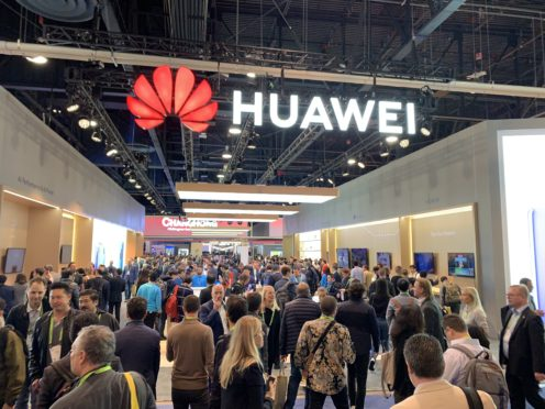 Huawei has grown rapidly in recent years, with its smartphone businesses now the world's second largest (Martyn Landi/PA)