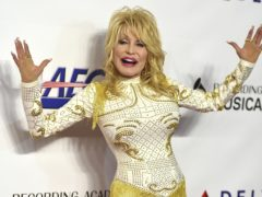Dolly Parton arrives at MusiCares Person of the Year event (Jordan Strauss/Invision/AP)