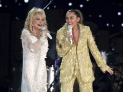Dolly Parton and Miley Cyrus perform Jolene (Matt Sayles/Invision/AP)