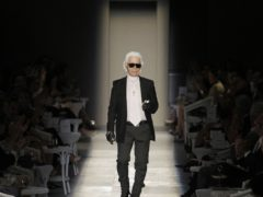 Karl Lagerfeld has been remembered as one of the greatest designers in history (Francois Mori/AP)