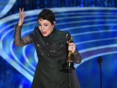 Olivia Colman at the Academy Awards (Chris Pizzello/AP)
