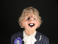 A Margaret Thatcher puppet is up for auction (Prop Store/PA)