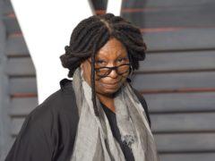 Whoopi Goldberg said she came 'very close to leaving the Earth' (PA)