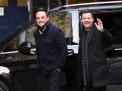 Anthony McPartlin (left) and Declan Donnelly arrive at Britain's Got Talent auditions at the London Palladium