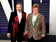 David Furnish and Elton John got married in December 2014 (Ian West/PA)