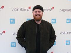 Tom Walker said he would be keeping his Brit award in the bathroom (Jonathan Brady/PA)