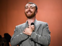 Sam Smith shared a topless selfie to promote body positivity (Ben Birchall/PA)