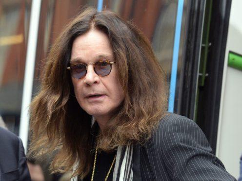 Ozzy Osbourne has spoken of his pride in Birmingham (PA)
