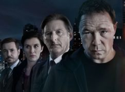Martin Compston, Vicky McClure, Adrian Dunbar and Stephen Graham from the new series of Line Of Duty (BBC)
