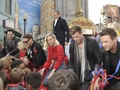 Avengers stars launch the charity at Disney Resort in Anaheim, California (Richard Shotwell/Invision/AP)