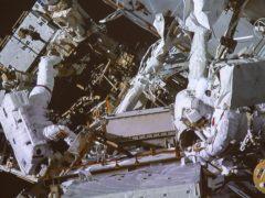 Astronauts Anne McClainand David Saint-Jacques (NASA/Canadian Space Agency/The Canadian Press via AP)