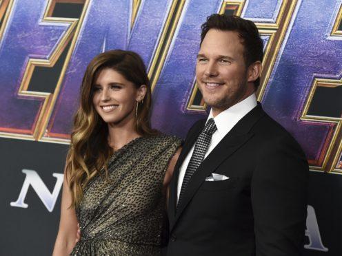 Chris Pratt and Katherine Schwarzenegger at the world premiere for Avengers: Endgame (Jordan Strauss/Invision/AP)