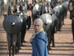 Emilia Clarke, who plays Daenerys Targaryen, in a scene from Game Of Thrones (HBO via AP)