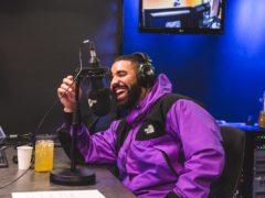 Drake (The 1Xtra Rap Show with Tiffany Calver/PA)