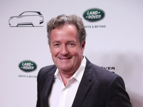 Piers Morgan wants to book the US president. (Jonathan Brady/PA)