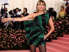 Miley Cyrus appears in Black Mirror's fifth series (Jennifer Graylock/PA)