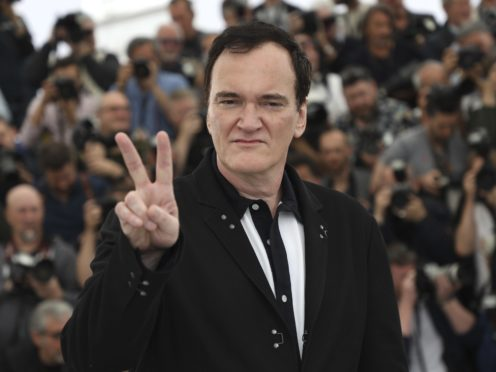 Director Quentin Tarantino bristled when asked about a supposed lack of dialogue for actress Margot Robbie in his latest film Once Upon A Time In Hollywood (Vianney Le Caer/Invision/AP)