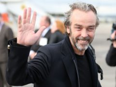 John Hannah won a bet with a fan who was convinced he was fellow actor Hugh Laurie (Andrew Milligan/PA)