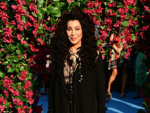 Cher (Ian West/PA)