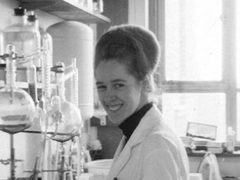 Embryologist Jean Purdy was not named on a plaque despite calls for her inclusion by colleague Robert Edwards. (Bourn Hall Fertility Clinic/ PA)