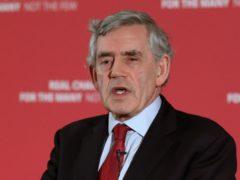 Gordon Brown (Andrew Milligan/PA)