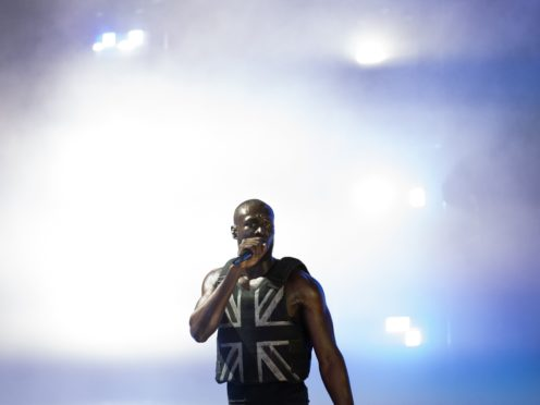Stormzy performing on the Pyramid Stage (Aaron Chown/PA)