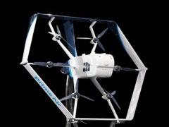 Amazon's newest drone (Jordon Stead/Amazon/PA)
