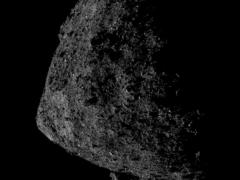Bennu asteroid photographed within 0.4 miles of the surface (NASA/Goddard/University of Arizona/Lockheed Martin/PA)