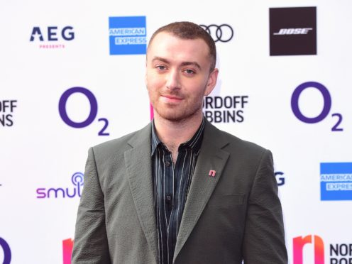 Sam Smith is among the celebrities to have shared the results of the FaceApp challenge (Ian West/PA)