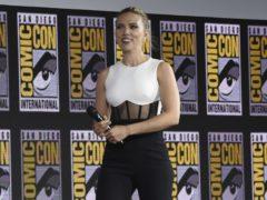 Scarlett Johansson has discussed the upcoming superhero film Black Widow (Chris Pizzello/Invision/AP)