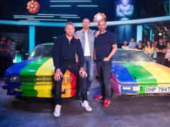 The Top Gear team (Jeff Spicer/BBC)