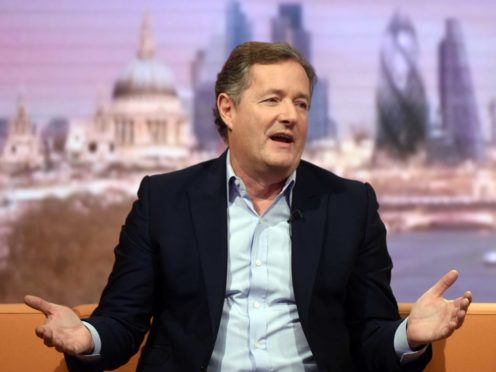 Piers Morgan labelled Jameela Jamil a 'virtue-signalling twerp' after the actress said criticism of the Duchess Of Sussex was rooted in racism (Jeff Overs/BBC/PA)