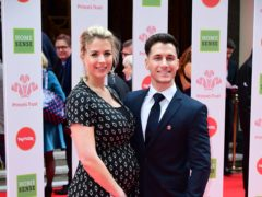 Gemma Atkinson and Gorka Marquez met on Strictly Come Dancing in 2017 (Ian West/PA)